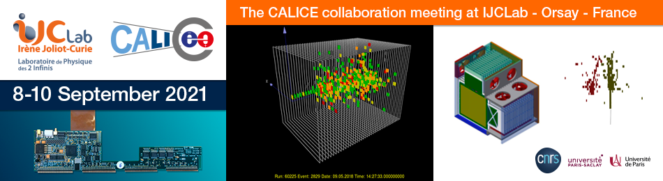 The CALICE Collaboration meeting at IJCLab, Orsay - France
